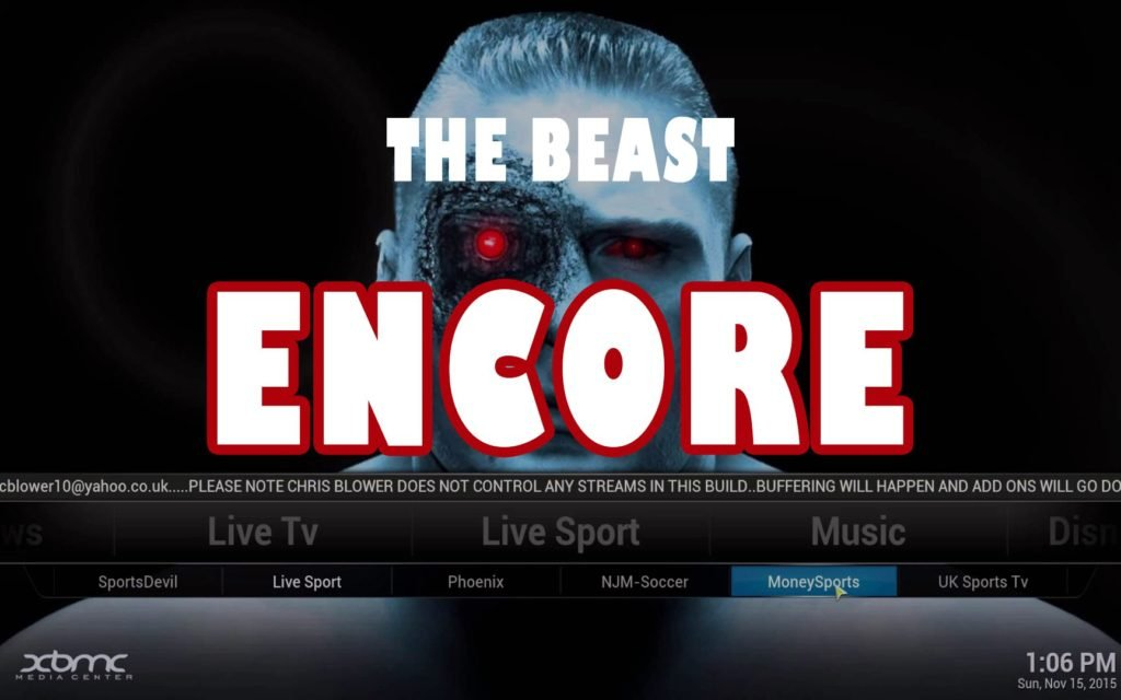 Beast Encore Build