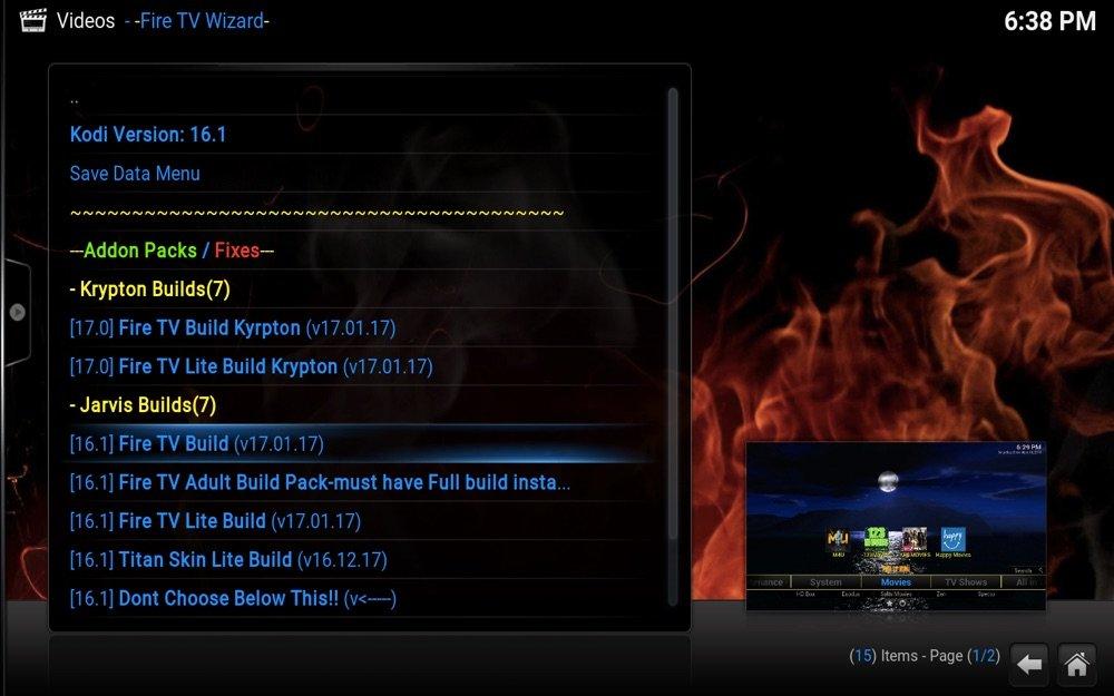Fire TV Build for Kodi