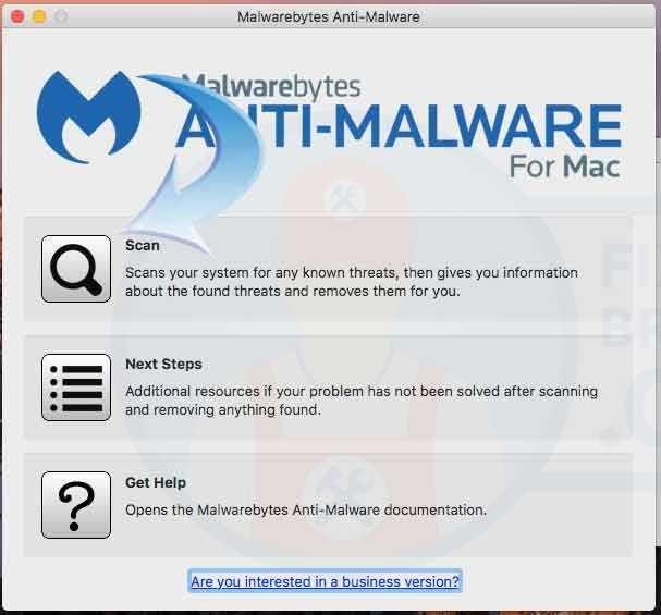 running MalwareBytes Anti-Malware Cleanup Tool