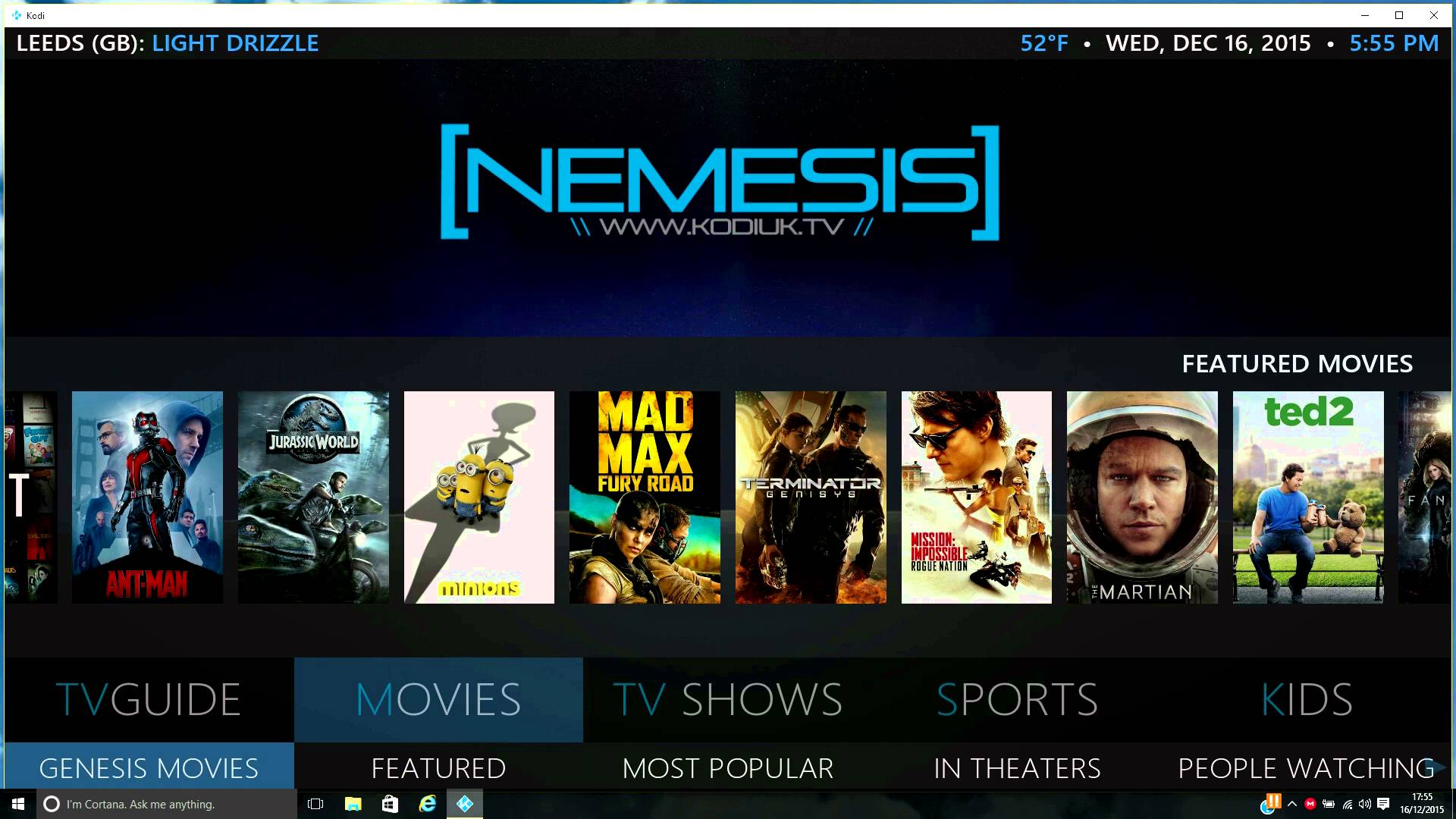 Nemesis Kodi Build