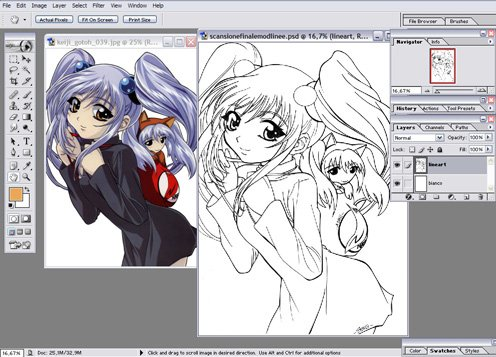 Adobe Photoshop For Manga Drawing