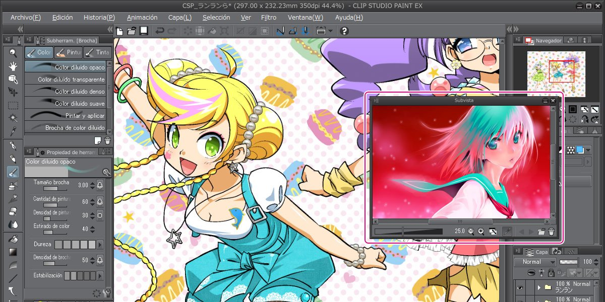 Clip Studio Paint - Leading Manga Drawing Software