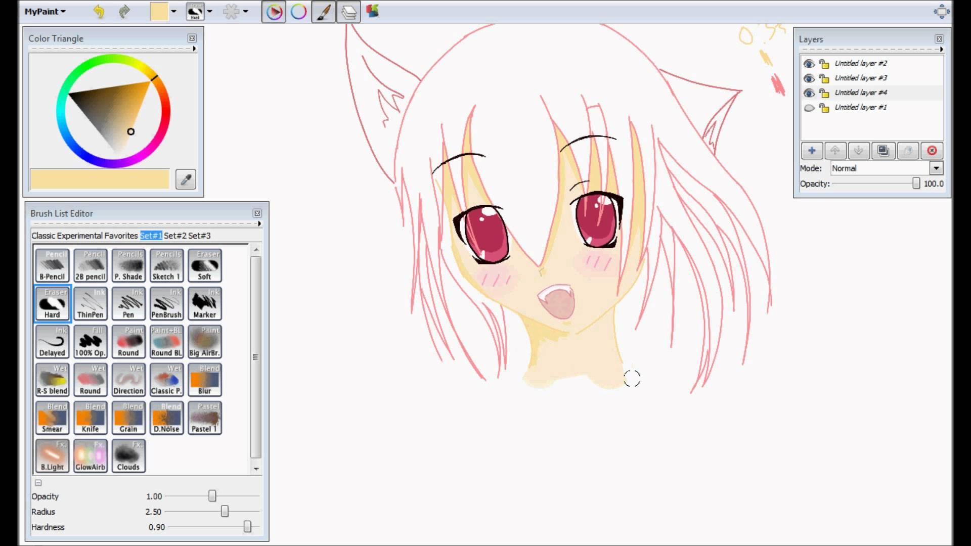MyPaint - Free Manga Drawing Software