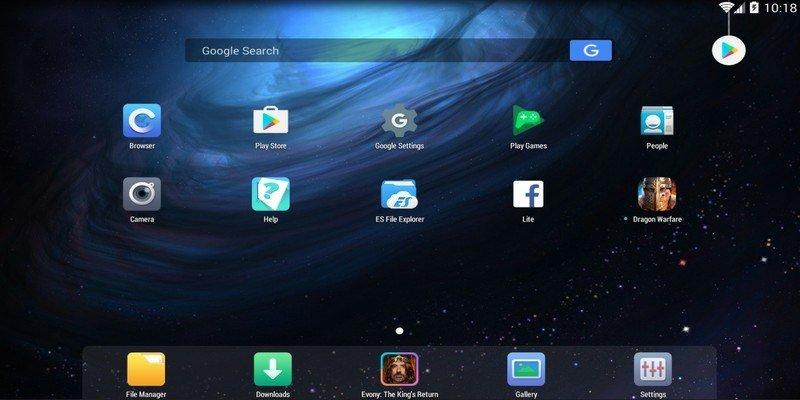 Fildo for Windows Using Nox App Player