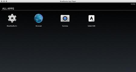browser on bluestacks
