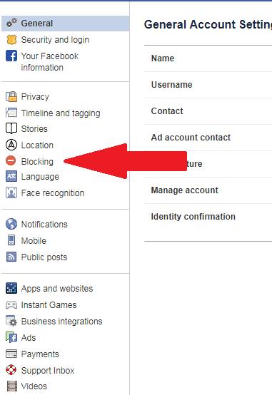 blocking facebook desktop