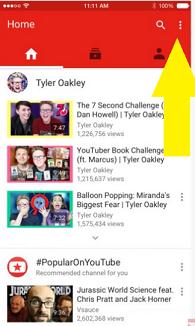 youtube app ios