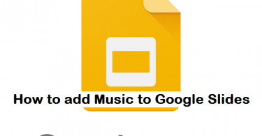 how to add music to google slides