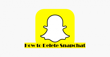 how to delete snapchat
