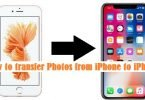 transferring photos from iphone to iphone