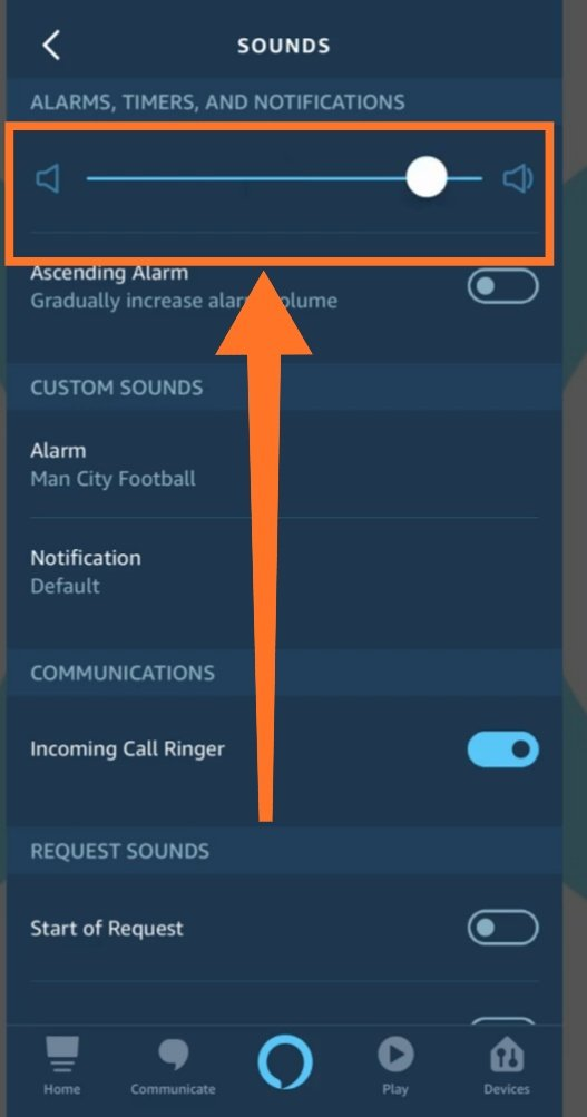 fixing alexa alarms and notifications are too loud issue