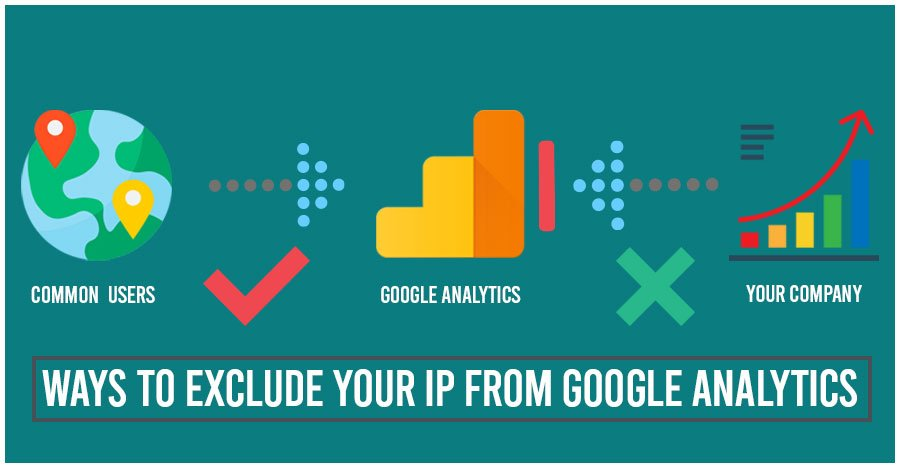 Exclude Your IP From Google Analytics