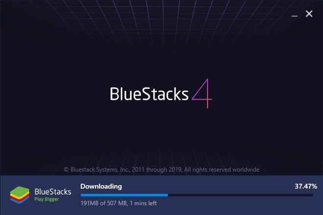 Install Bluestacks on Windows