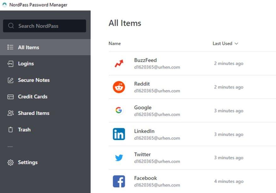 NordPass Desktop App 2