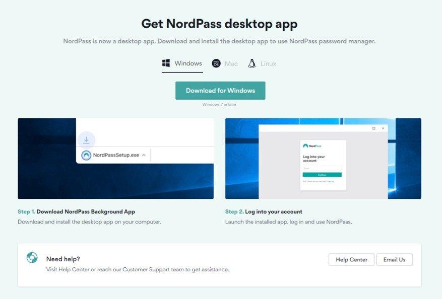 NordPass Desktop App