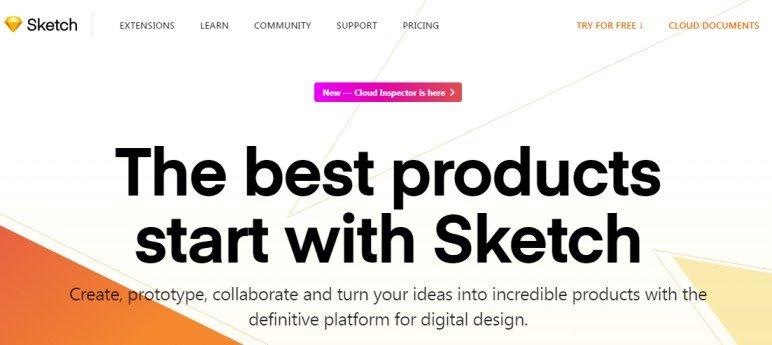 Sketch website