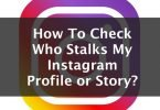 how to check who stalks my instagram