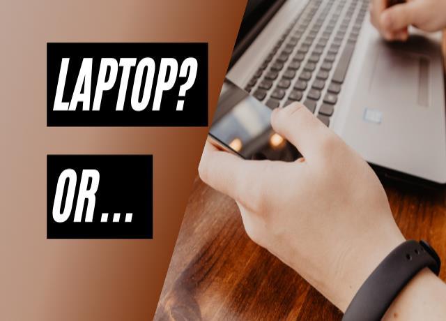 do i need a laptop